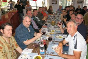 Dinner at Agrelha, a local Portuguese restaurant.