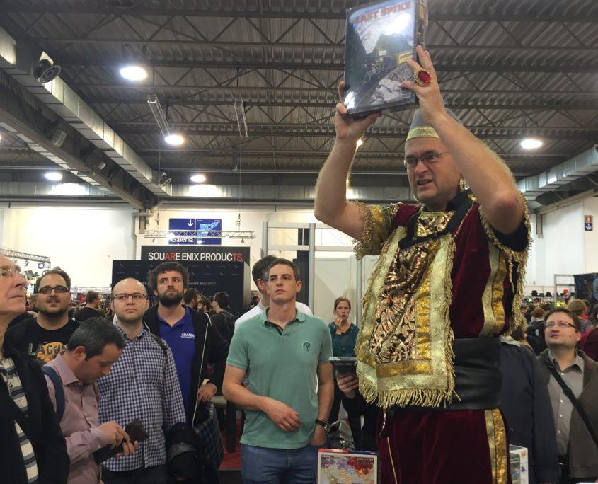 Last Spike auction